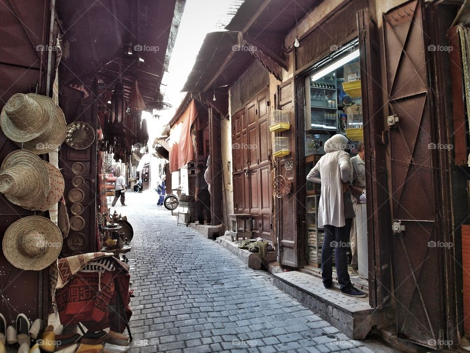 The Old Medina. Fes, Morocco