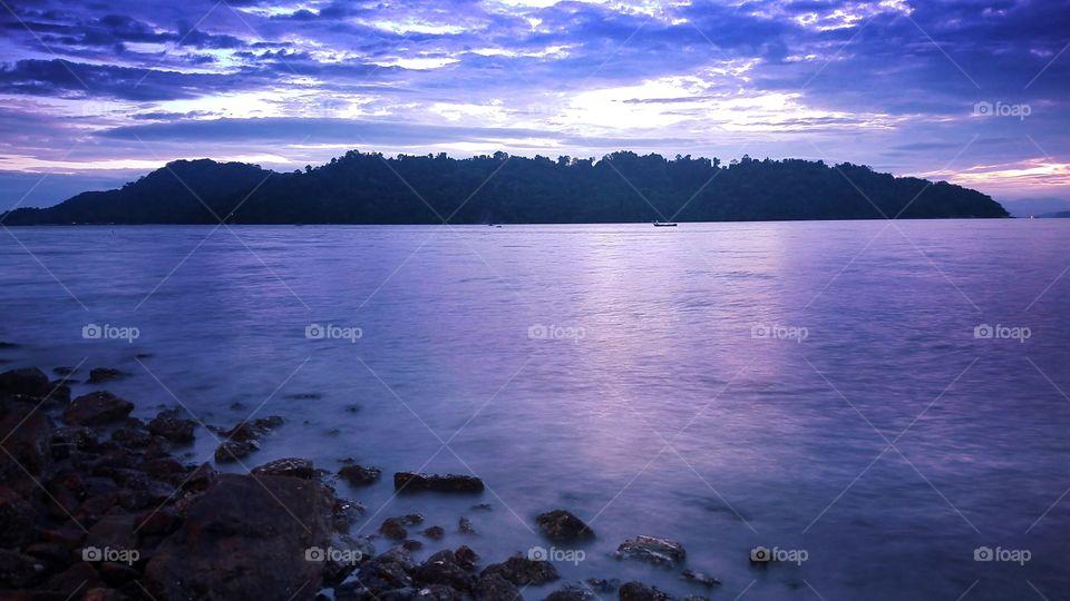 island view long exposure