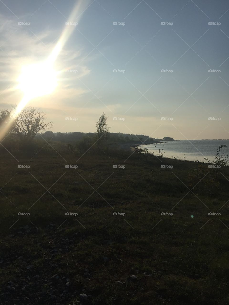 Spring sunset at Fårö ☀️