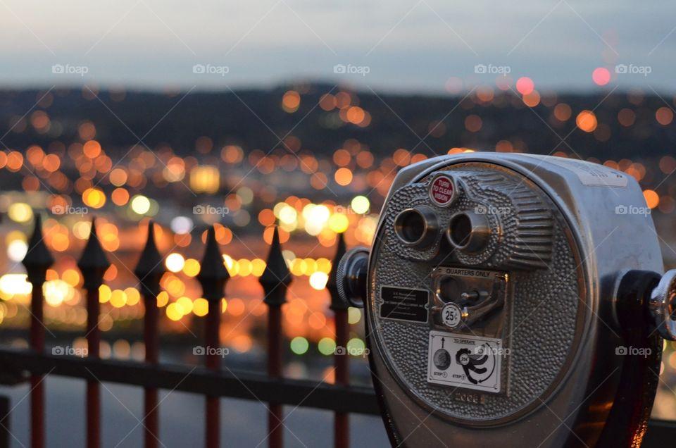 telescope view