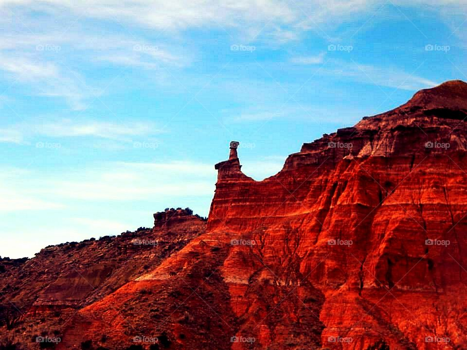 Texas Red Canyon