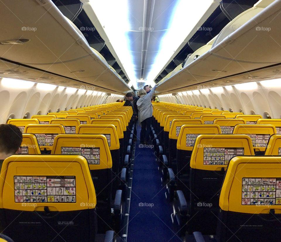 Ryanair plain