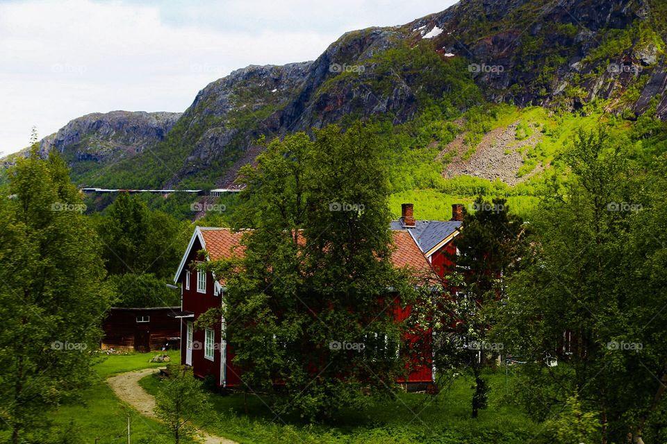Norwegian cottage