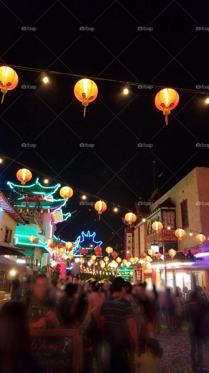 Huge celebration in Los Angeles' China Town