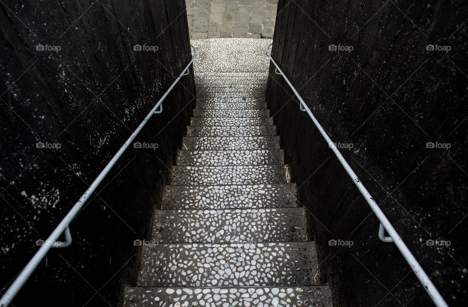 grey stairs