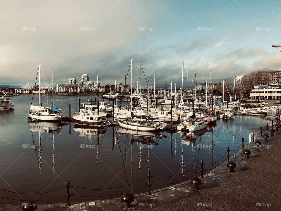 Beautiful Downtown Victoria Harbour