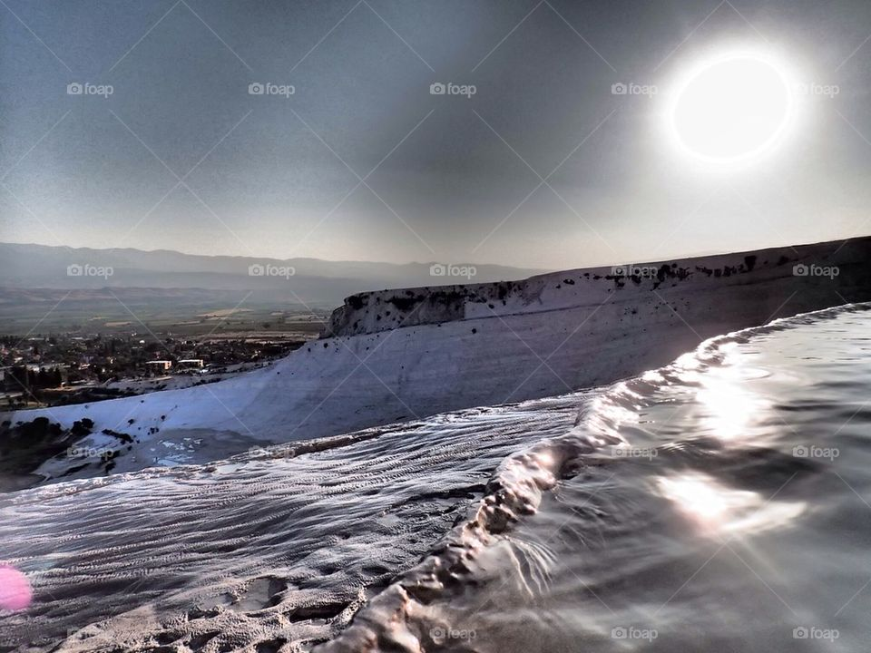 Pamukkale salt baths