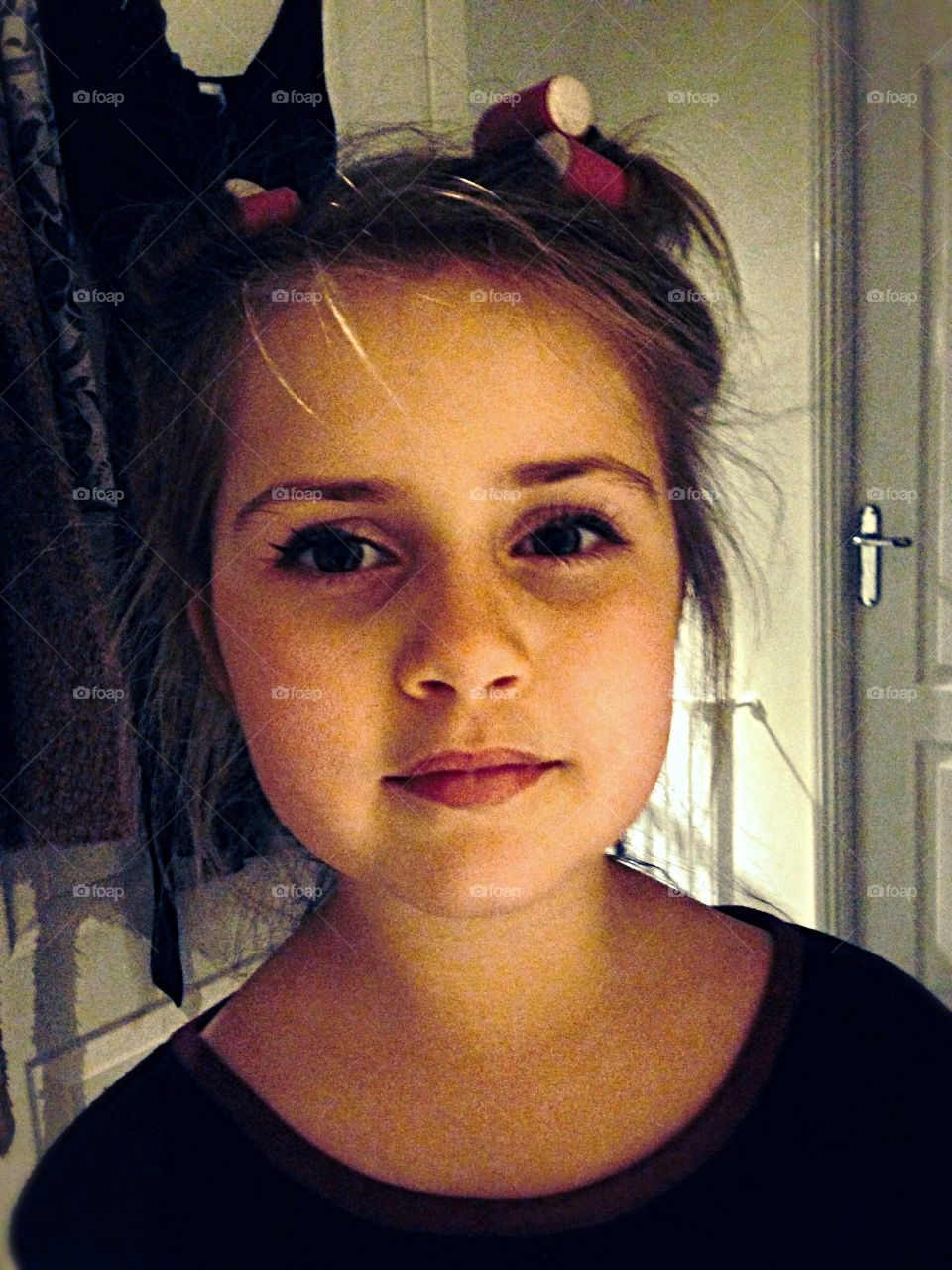 My muse a few years ago- beautiful, young, innocent