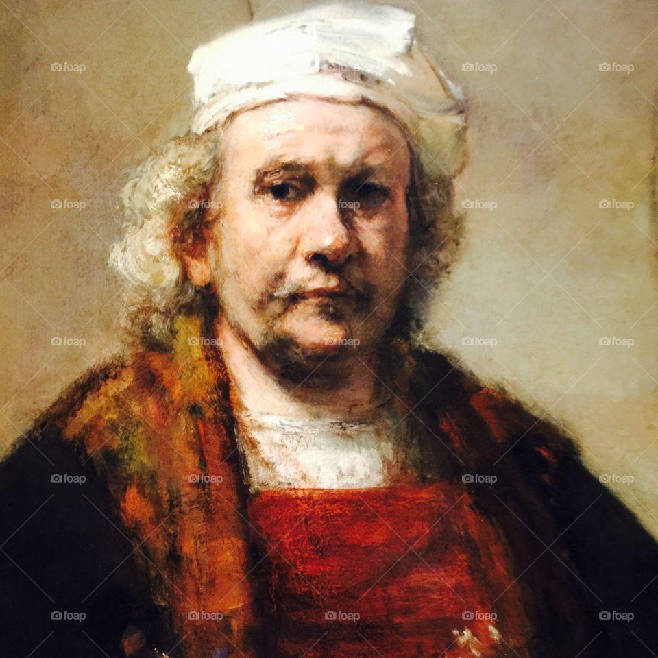 Rembrandt Selfportrait