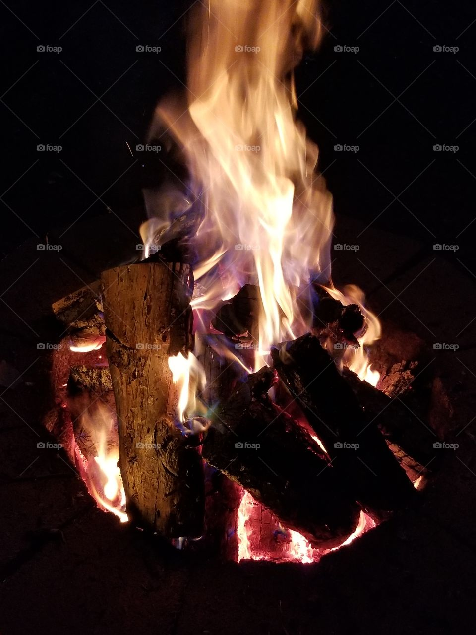Firepit for a cold night