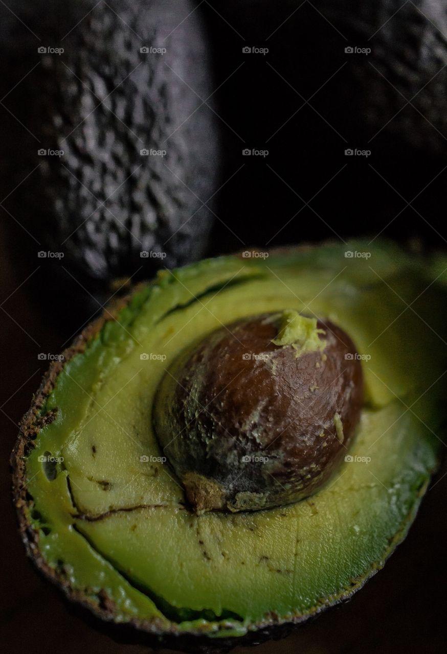 Close-up of avocado