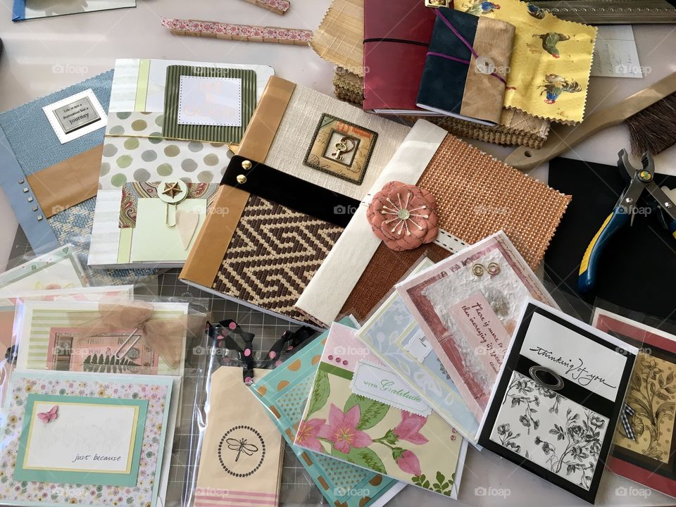 DIY Greeting Cards and Journals, handmade