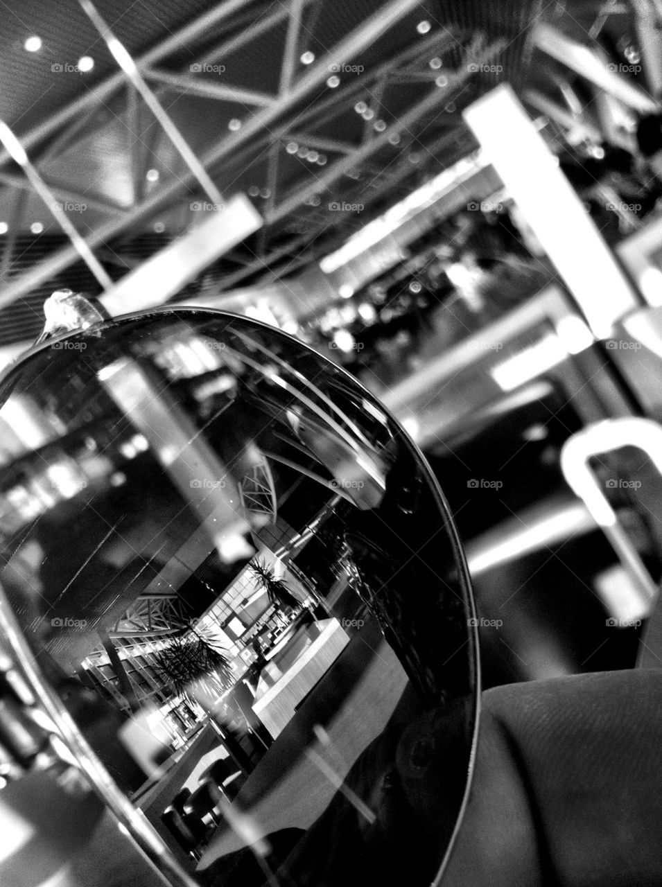 table reflection sun glasses surface by eastyimages