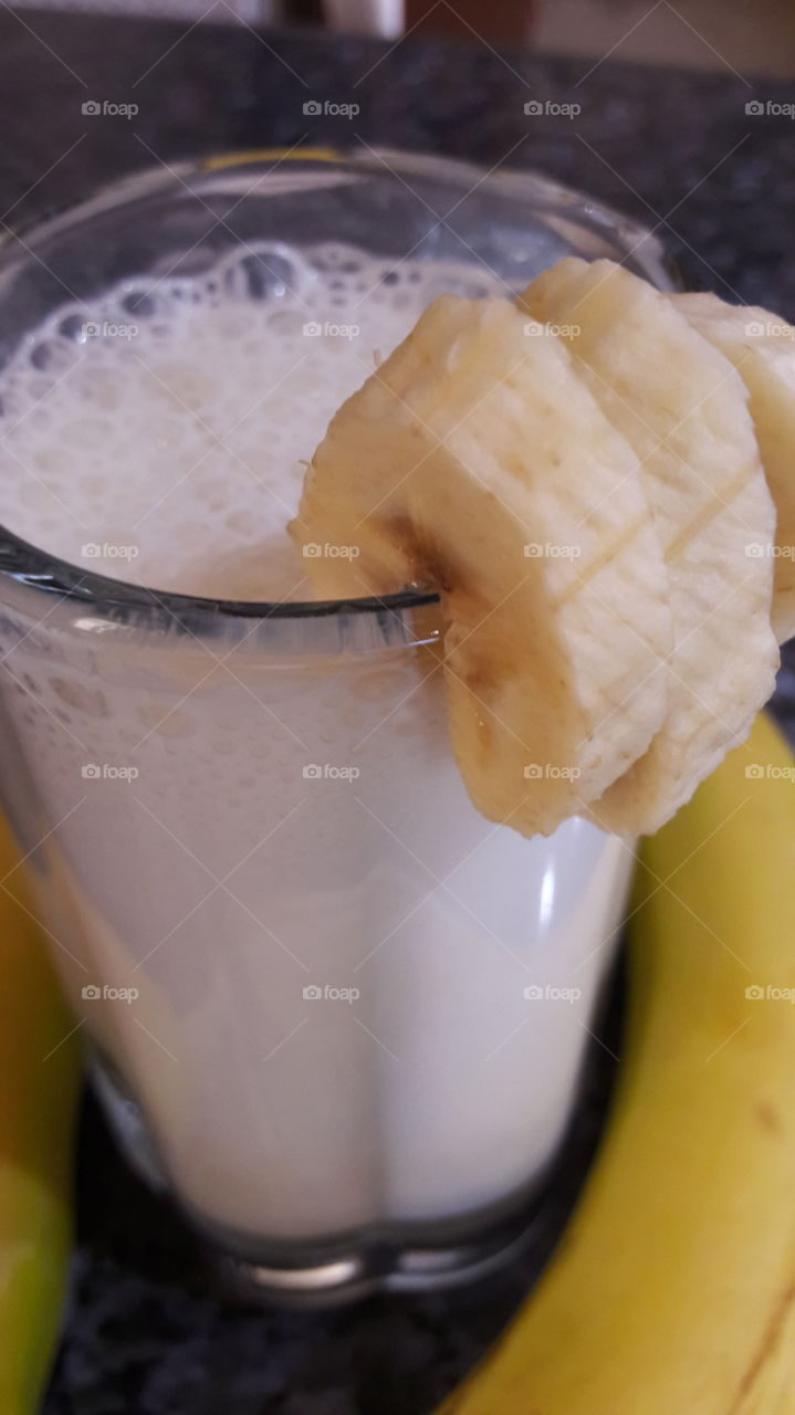 milk shake banana flavour  for summer time