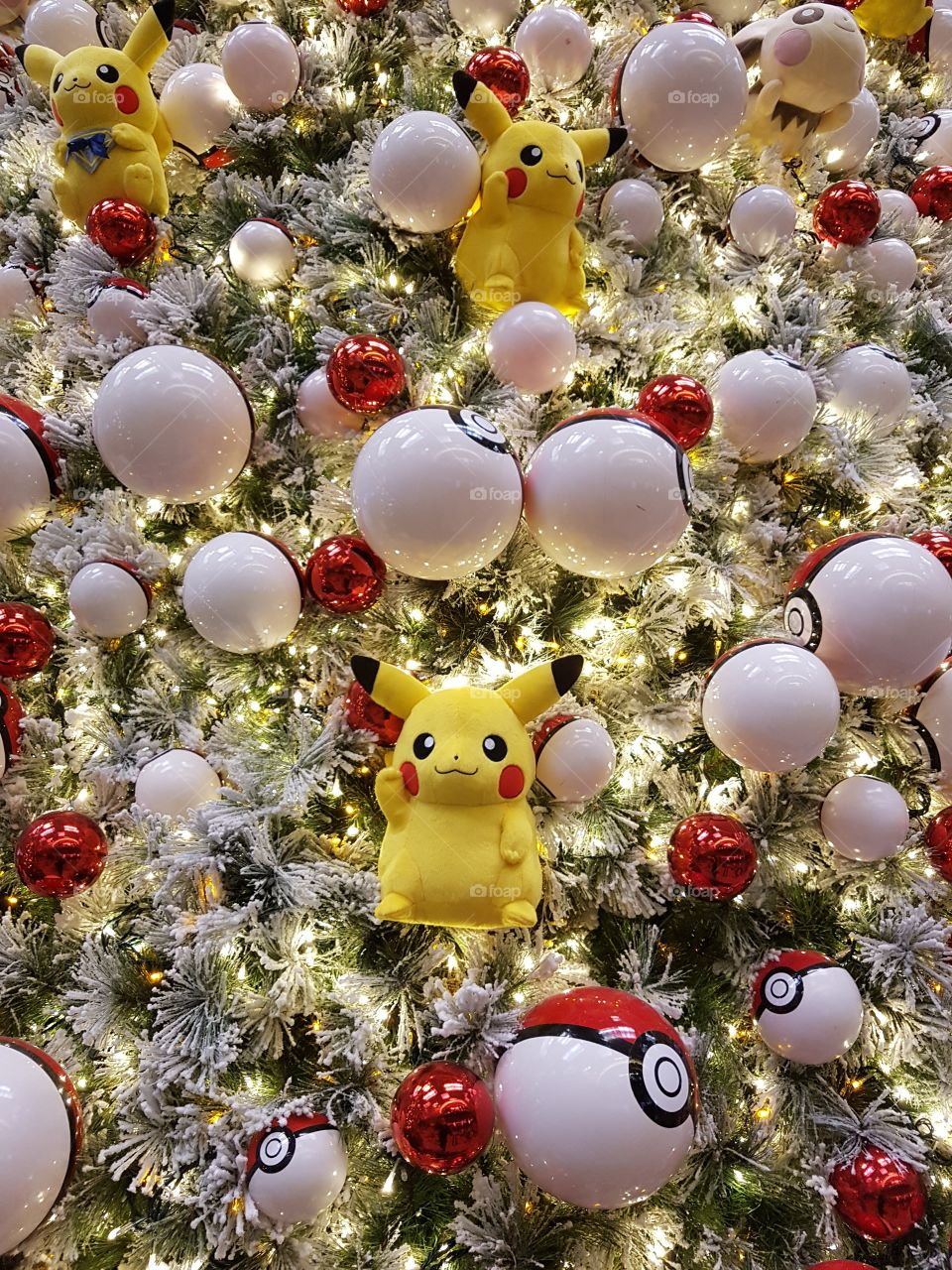 pikachu christmas decoration