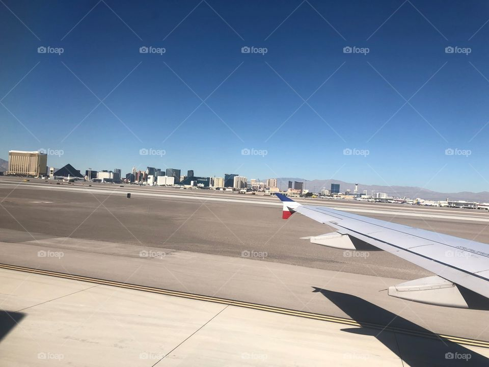 The strip from the airport