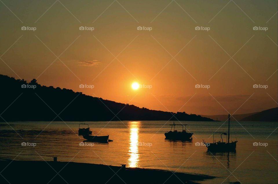 Greece photography Sun sunny summer sunset Greece nature beach