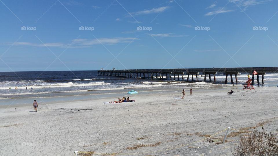 Jacksoville Beach after Irma