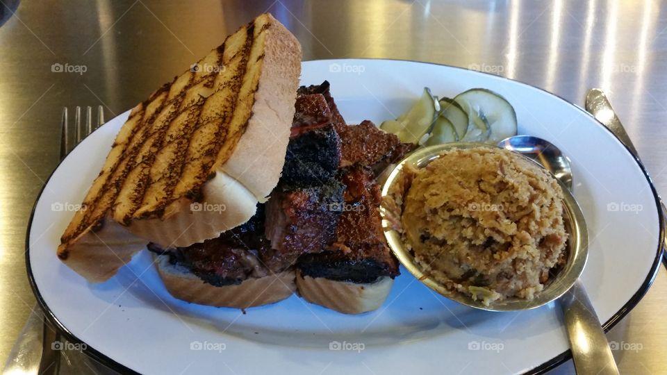 Burned Ends Sandwich - Gilbert's Social Restaurant