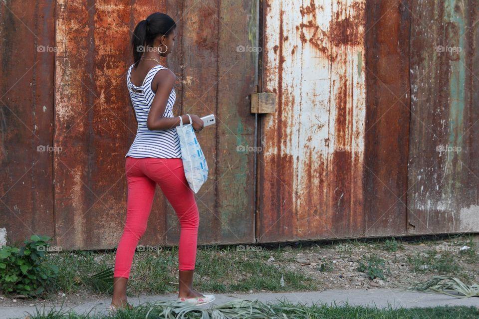 Cuban People.Beauty