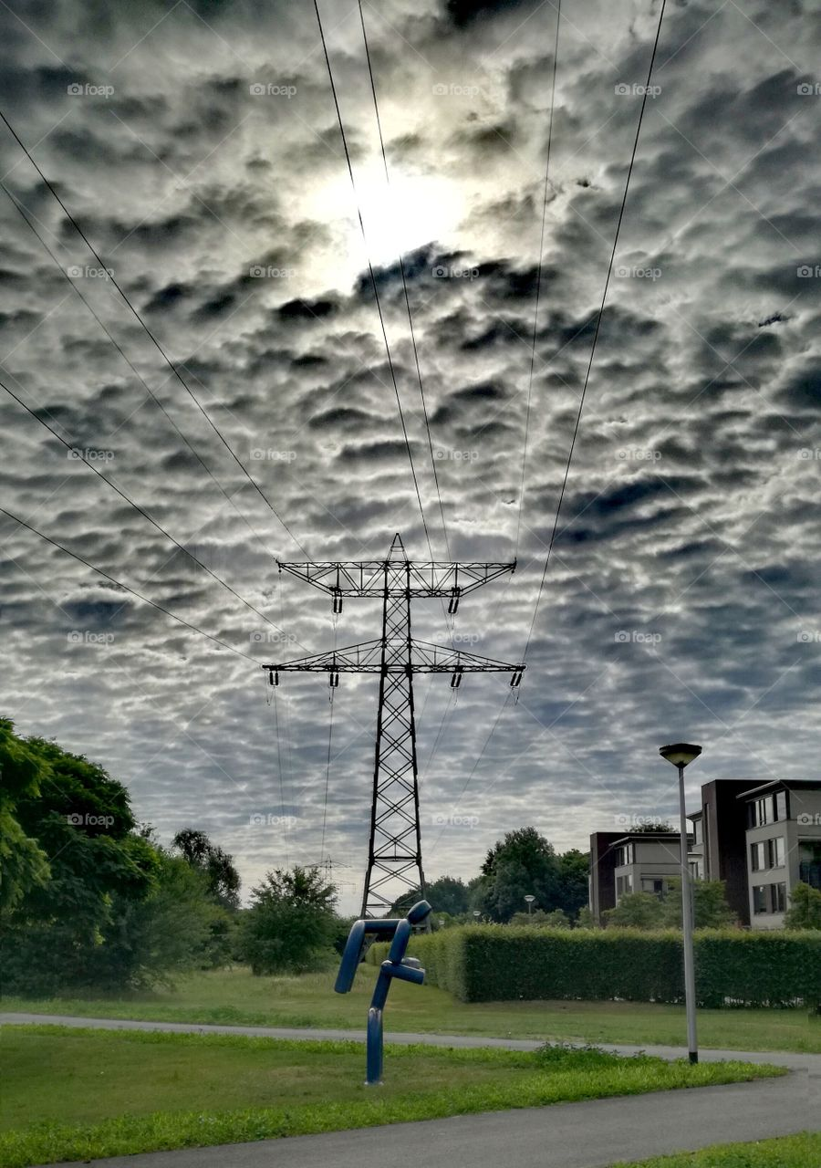 clouds of electronics