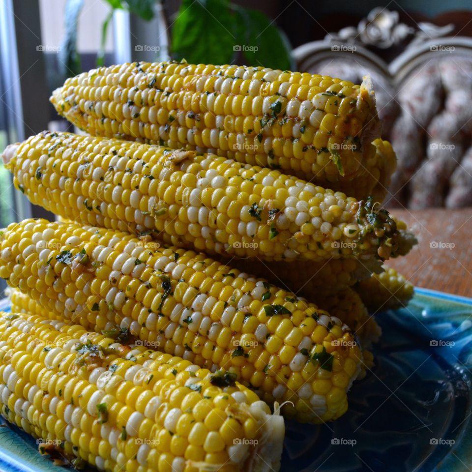 Chipotle-Jalapeno Lime Corn On The Cob