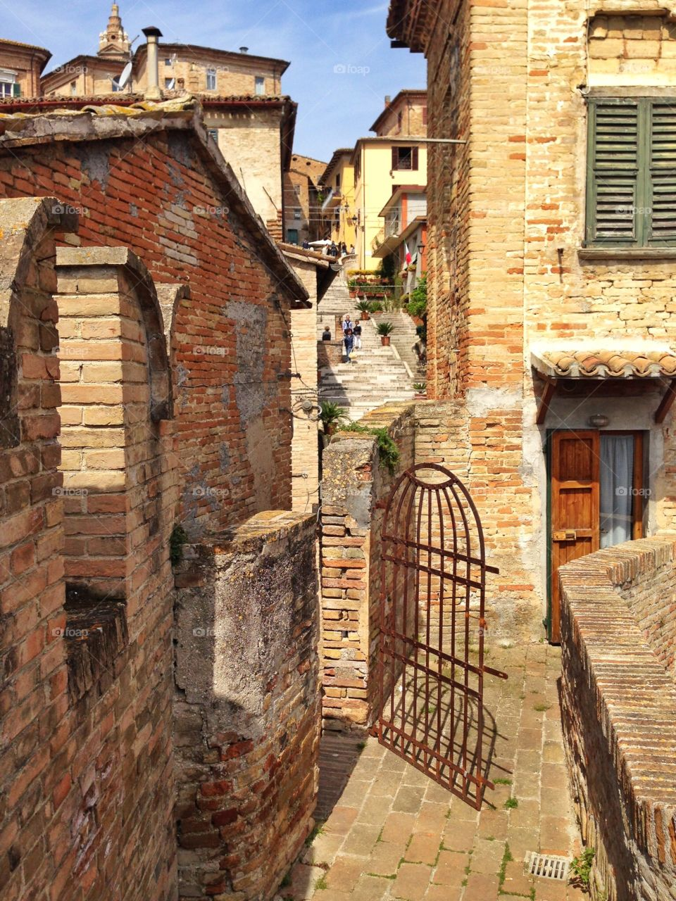 Ancient Houses in italian town