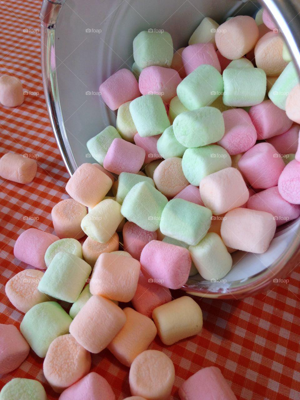 Spring Marshmallows