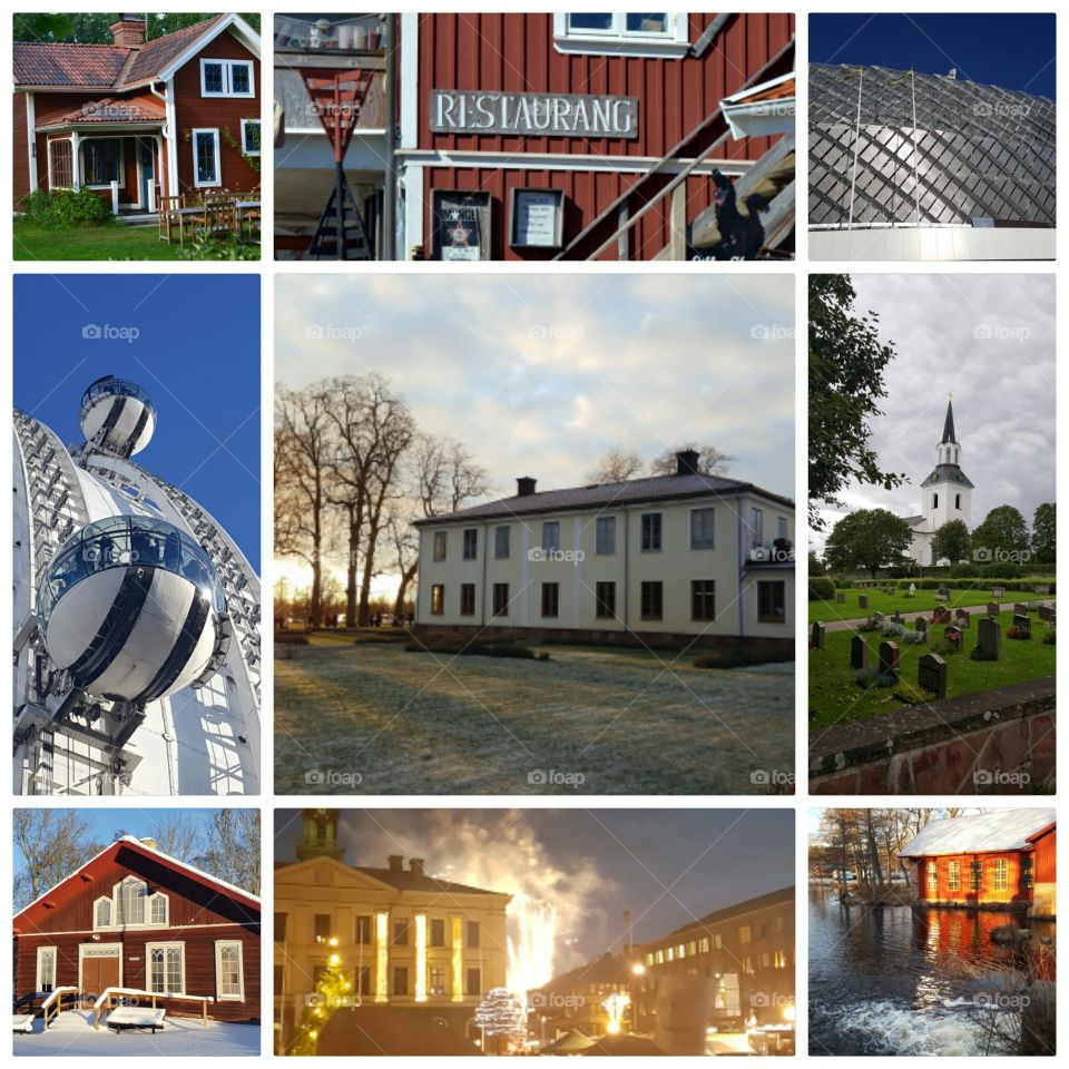 Collage of Houses