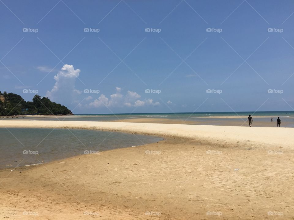 Cheating. The most lovely public beach in Malaysia