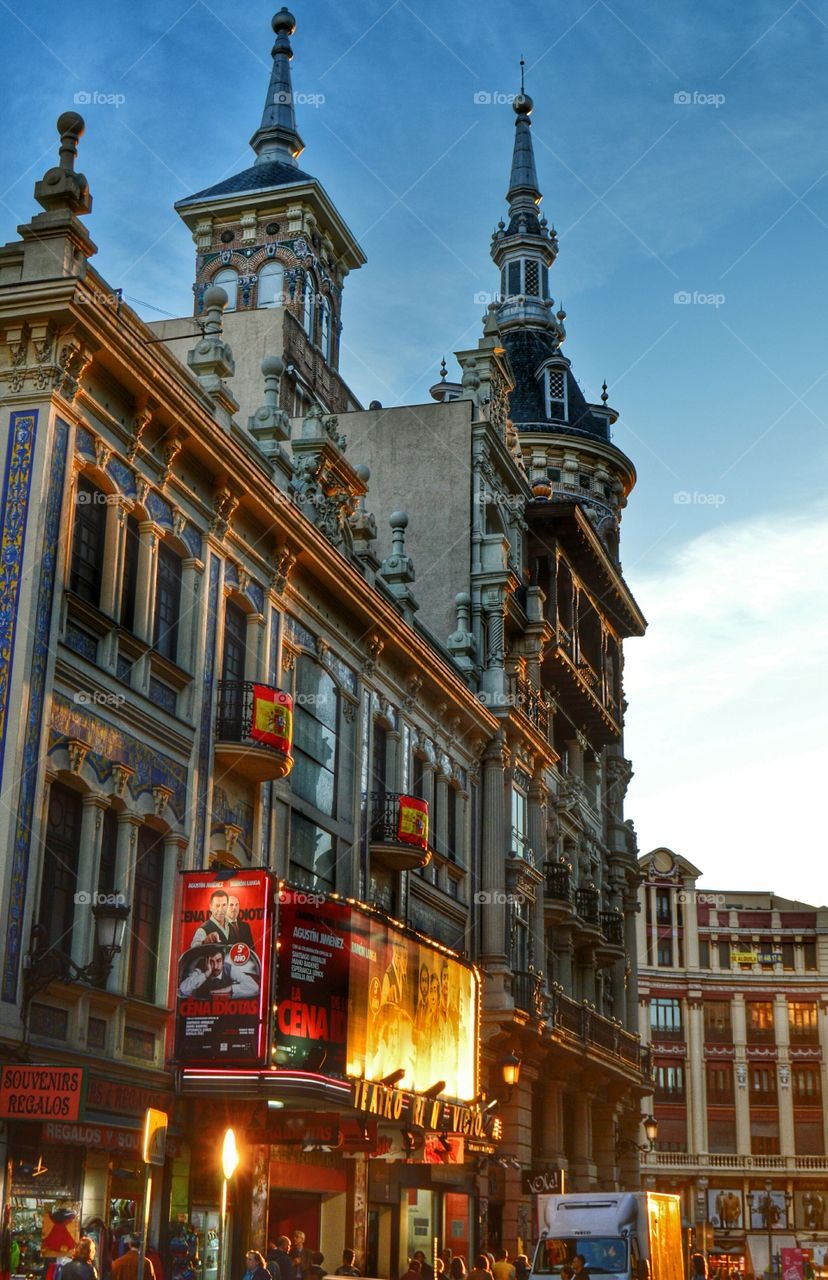Reina Victoria Theatre, Madrid. Reina Victoria Theatre, Madrid