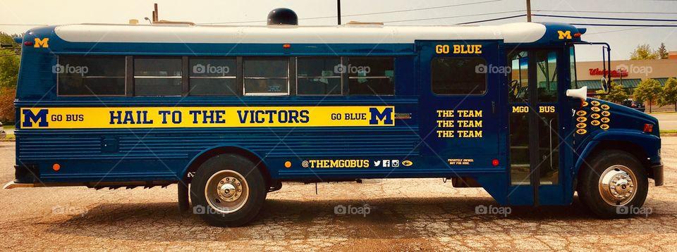 Michigan: Go Blue Bus