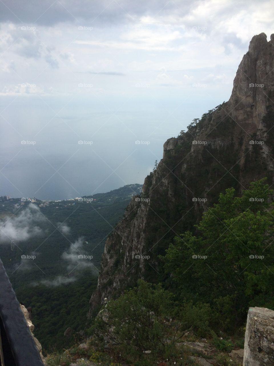 Crimea, Ai-Petry mountain, summer 2018