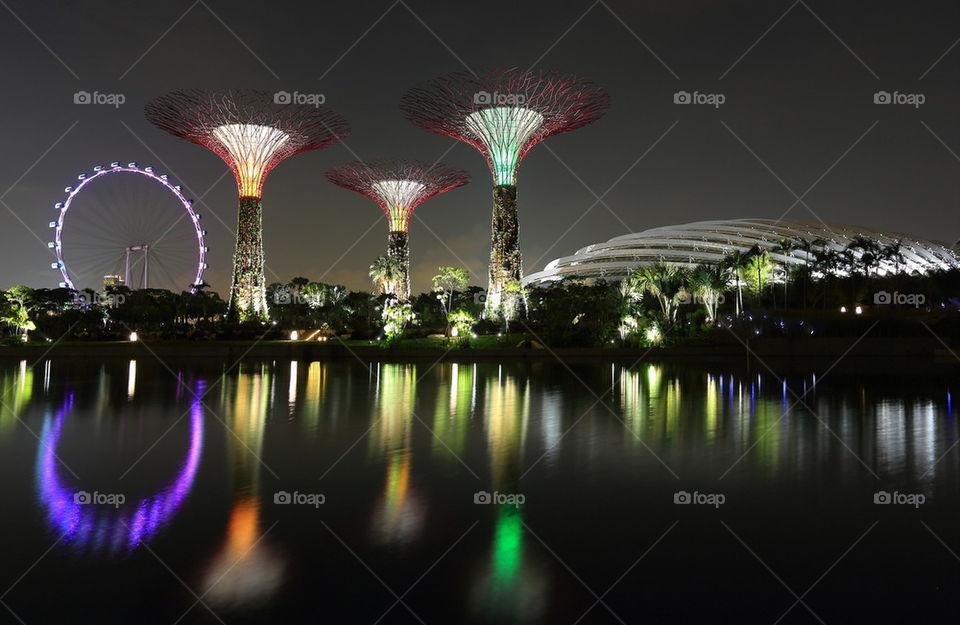 Singapore super stree Garden