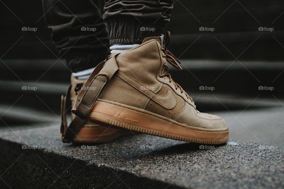 "Nike Air Force 1 High ""Wheat"""