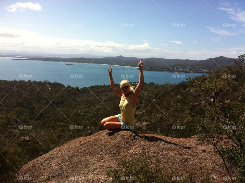 wine glass bay Australia
