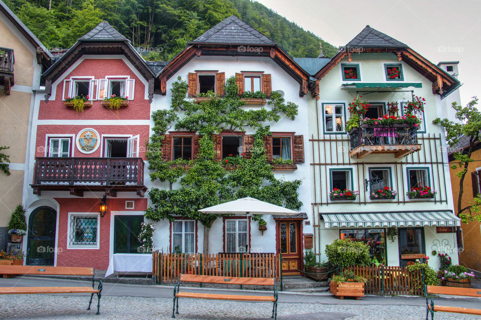 Center of Hallstatt