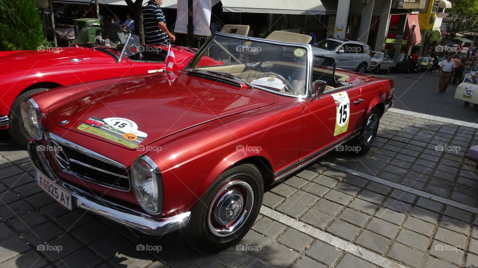 Classic car. Classic car
