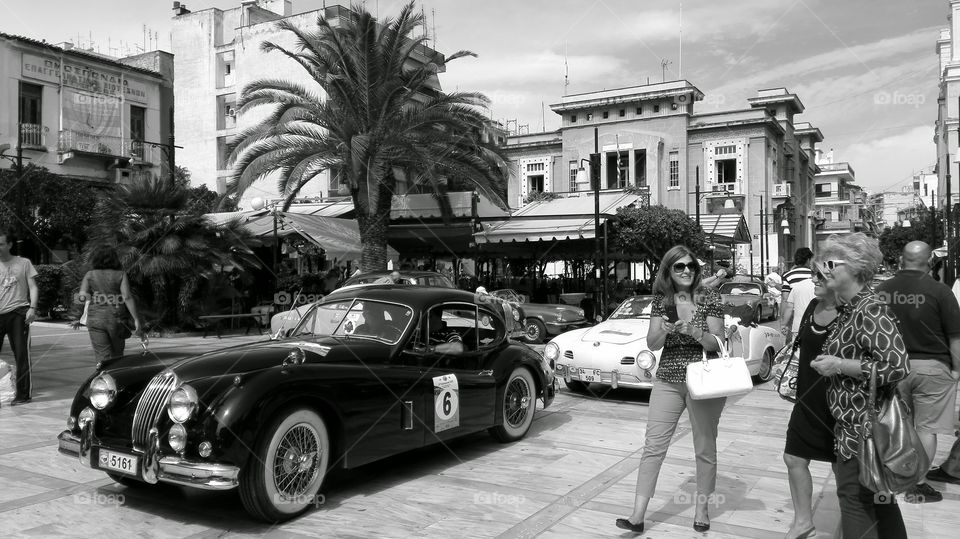 Classic cars. Classic cars
