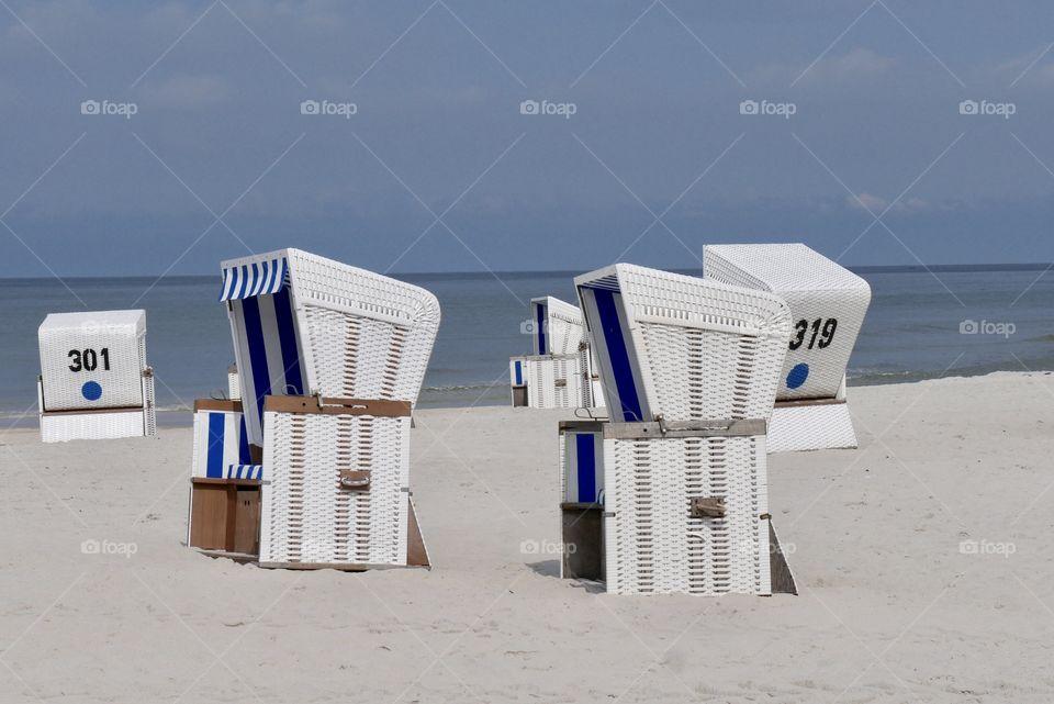 Beach Chairs Sylt Summer 2019