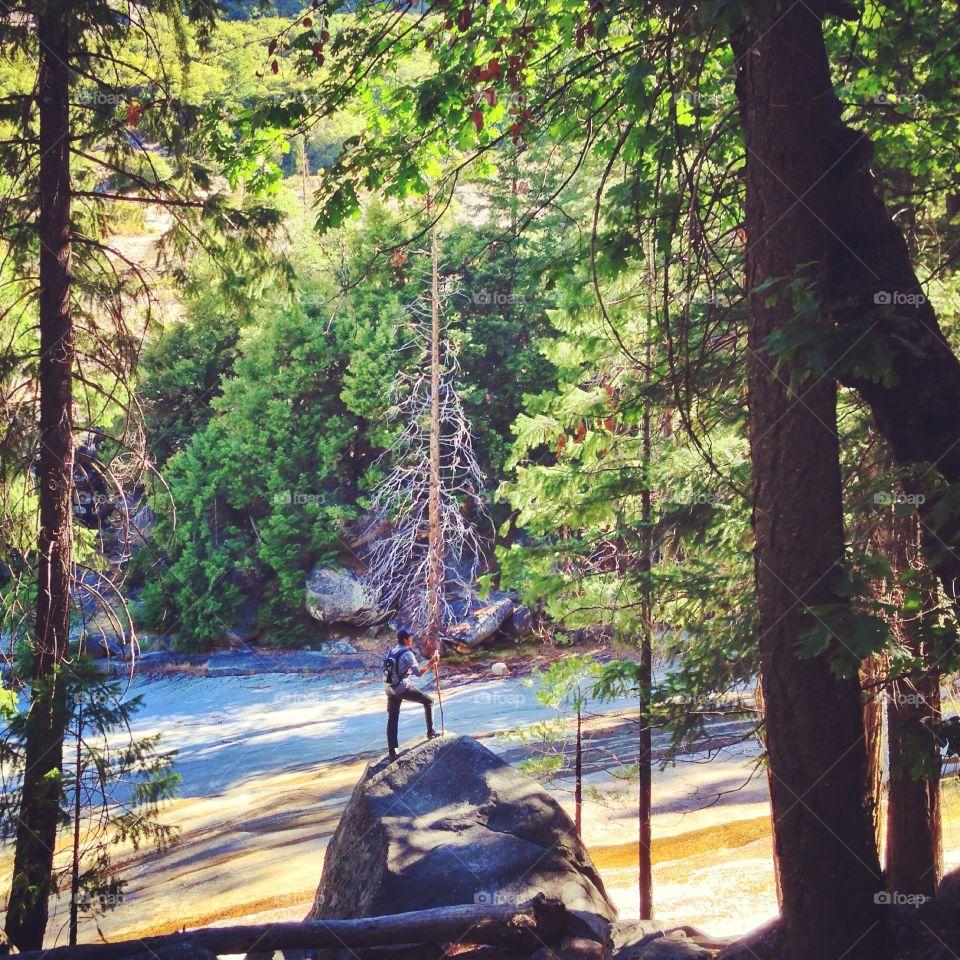 Yosemite river