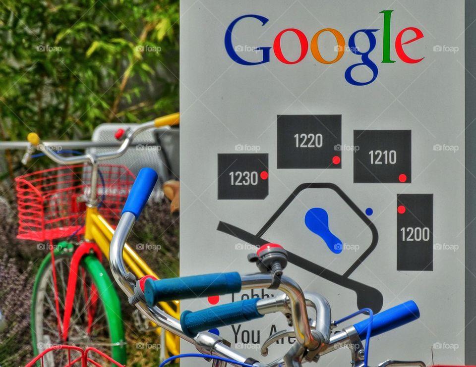 Google Bikes and Logo