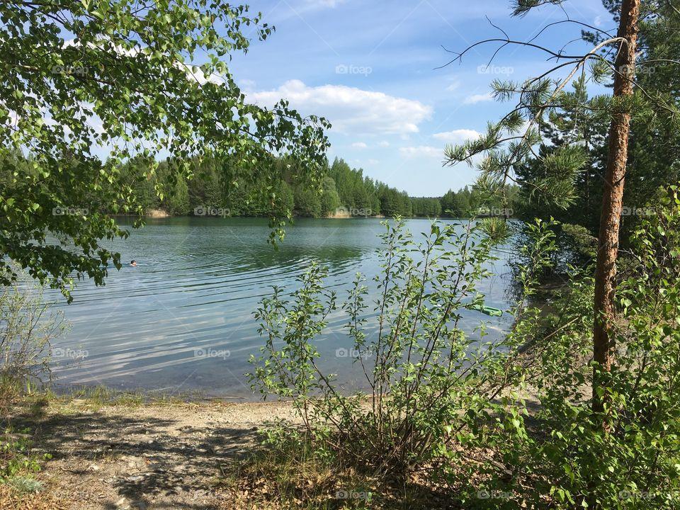 Summer lake