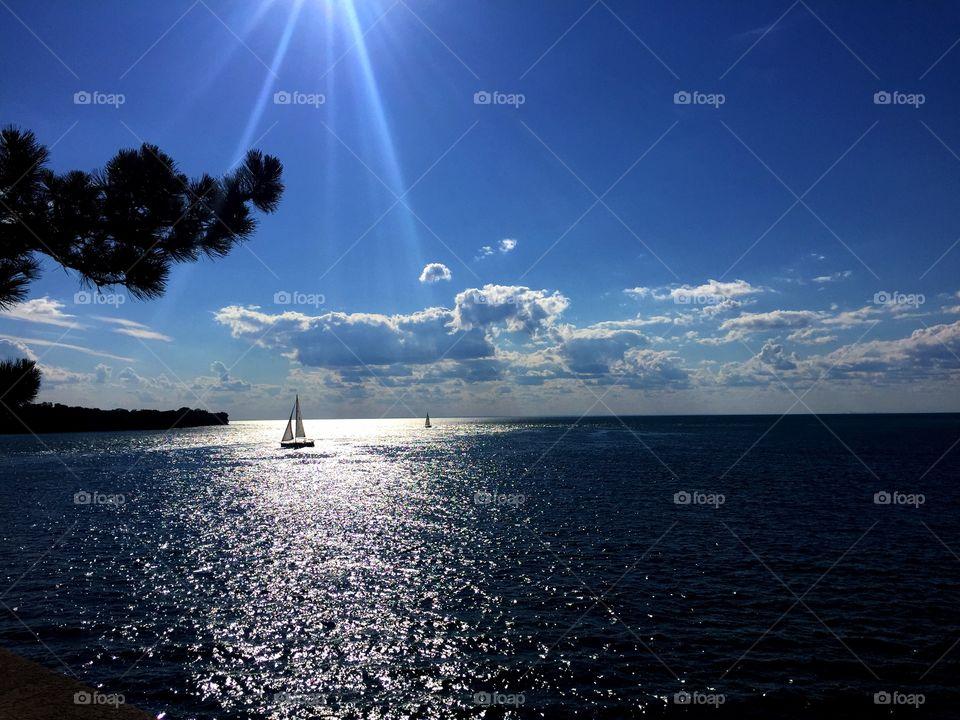 Ocean separates lands, not souls..