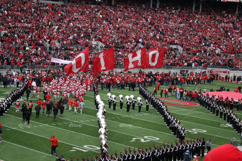 Ohio state football game