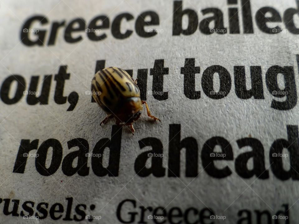 Tough road ahead. Greece bailed out, but tough road ahead