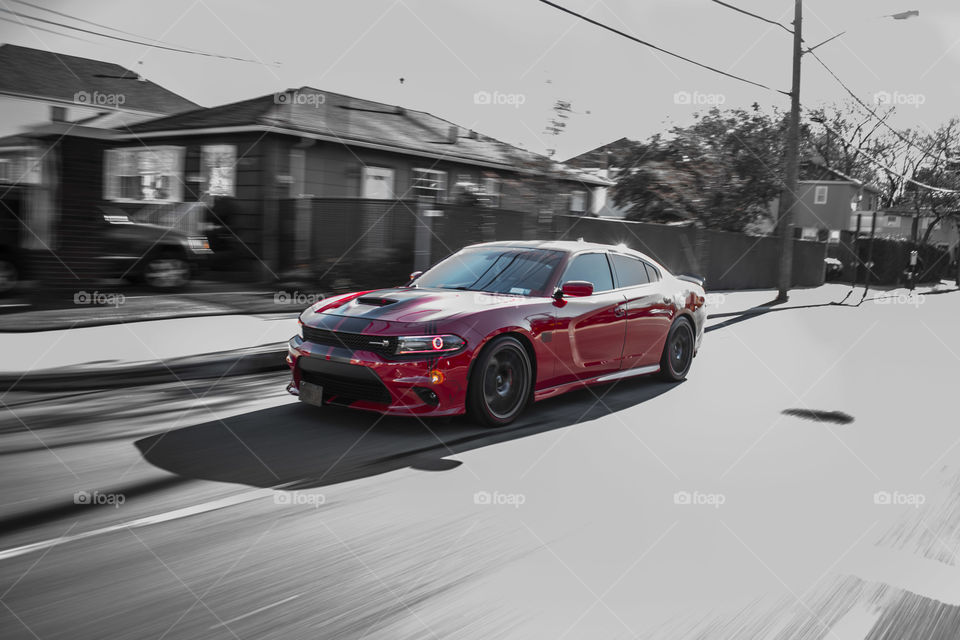 Red Beast Dodge Charger