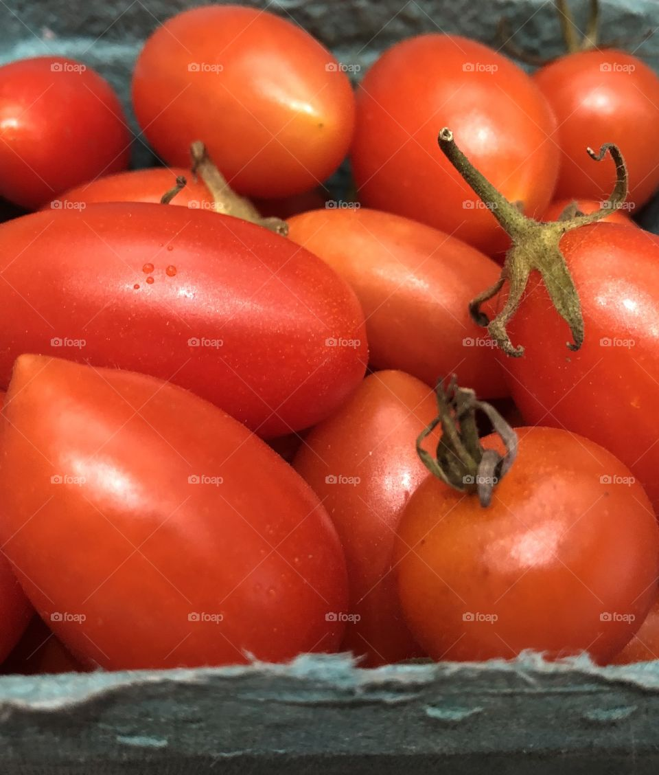 Beautiful Fresh Local Lovely Tomatoes