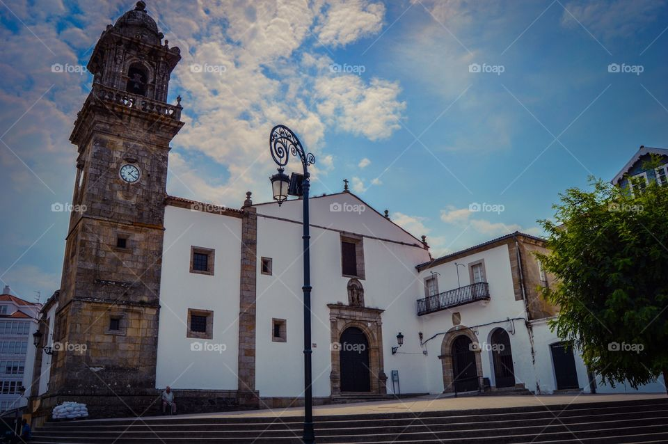 Santo Domingo church, Betanzos, Spain