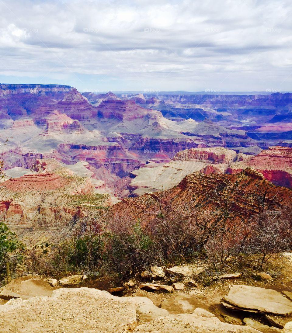 Canyon. Grand Canyon splendor